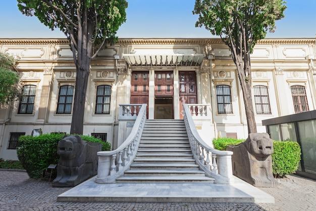 Archeologisch museum van istanbul, istanbul, turkije