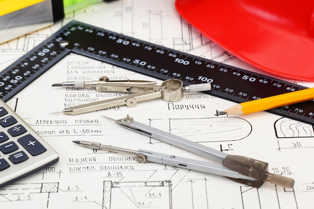 Architectonische plannen