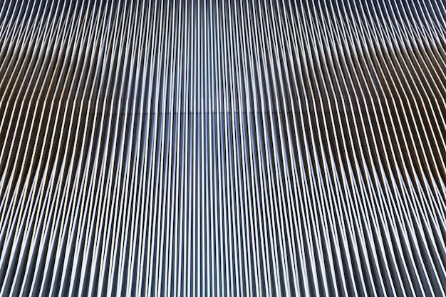 Architectuur met abstracte lijnen