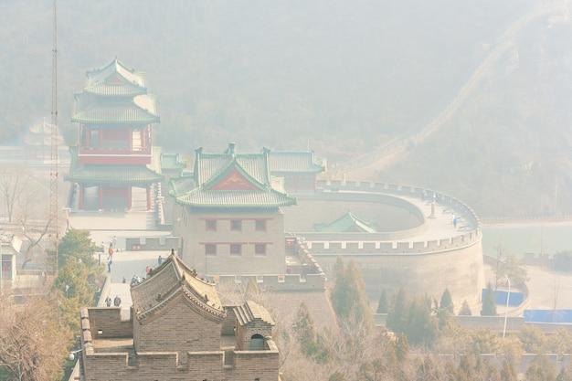 Architectuur van de grote muur van china