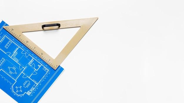 Architectuurproject met meetinstrument