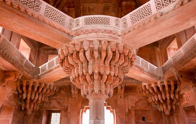 Archtecture van fatehpur sikri uttar pradesh india geschoten in hrd.