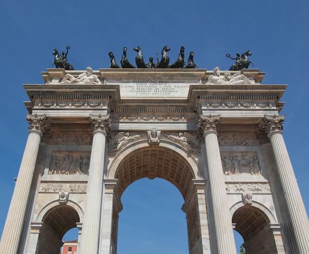 Arco della pace, milaan
