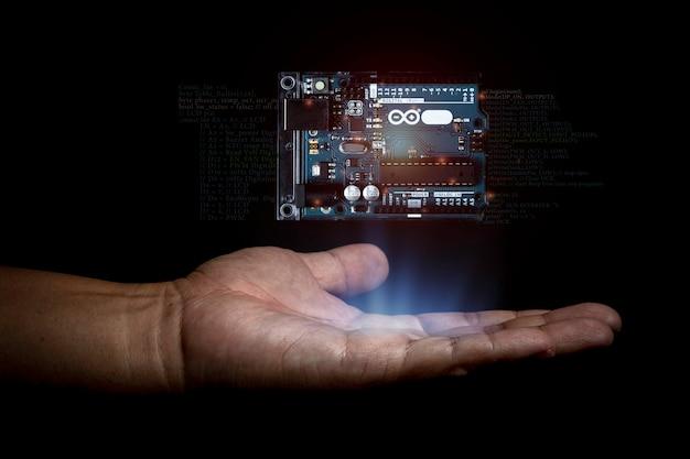 Arduino besturingselement breed element