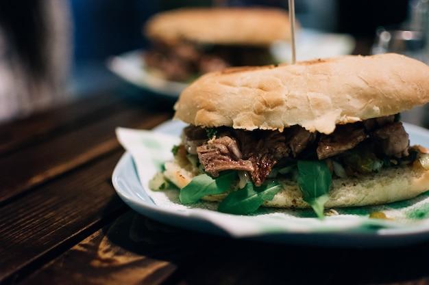 Argentijnse steak sandwich