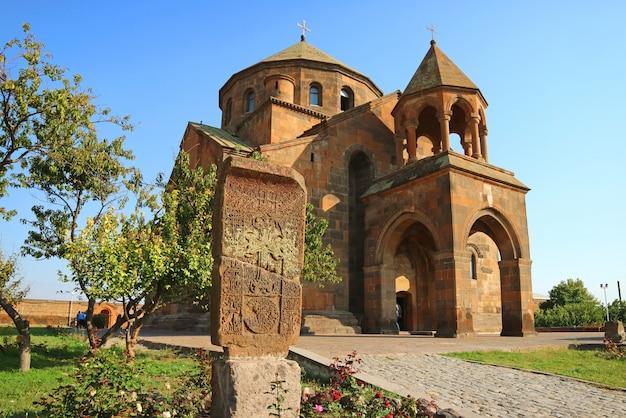 Armeense apostolische kerk uit de zevende eeuw van saint hripsime, armenië
