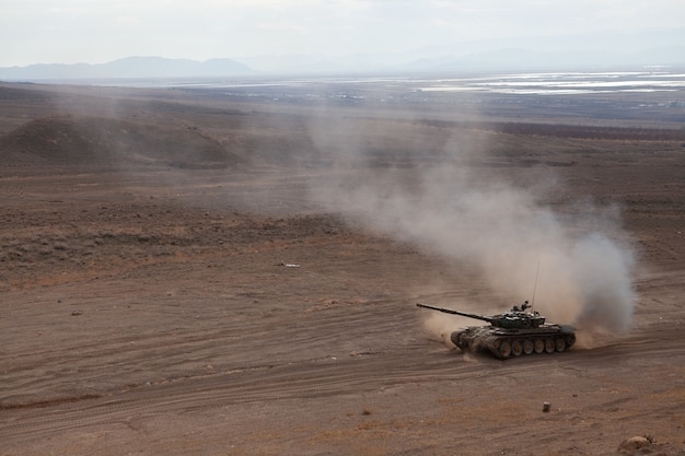 Armeense legereenheden tijdens trainingen