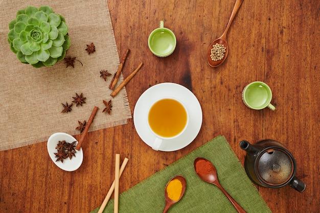 Aromatische groene thee