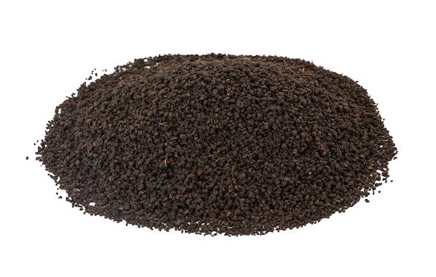 Aromatische zwarte thee losse of gedroogde theebladeren
