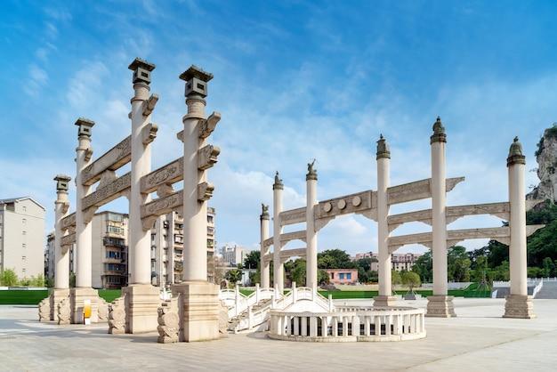Art arch, chinese klassieke bouwstijl.