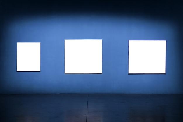 Art museum frame wall ornate minimal design.