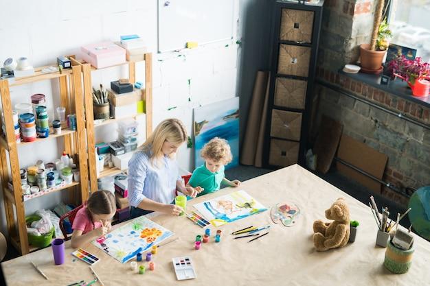 Art studio voor kinderen