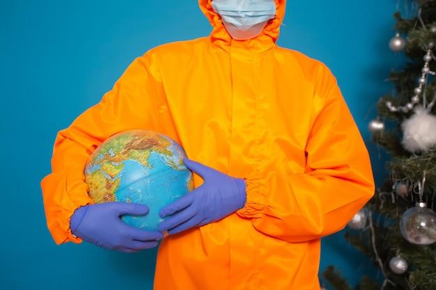Arts bedrijf earth globe