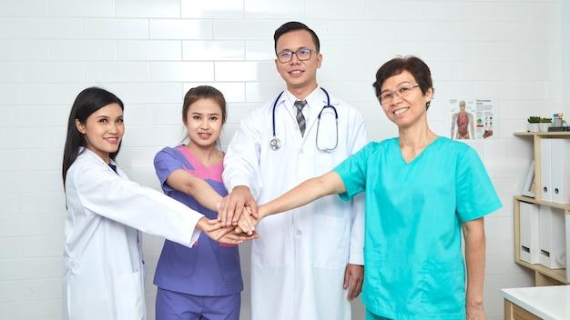 Arts en verpleegkundige, madical team