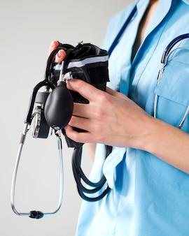 Arts met een stethoscoop