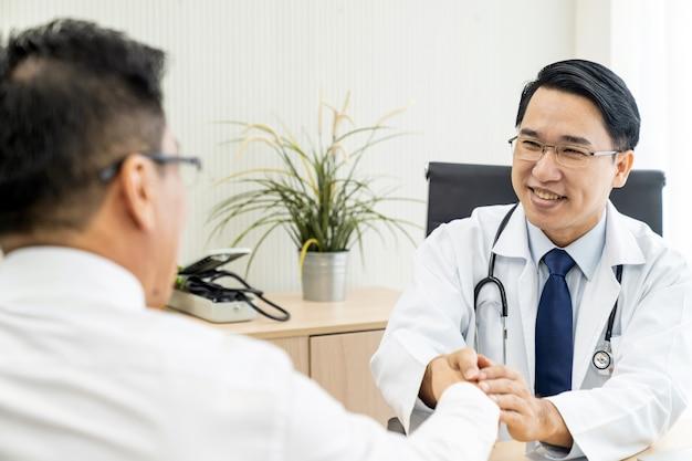 Artsenportret in medisch bureau
