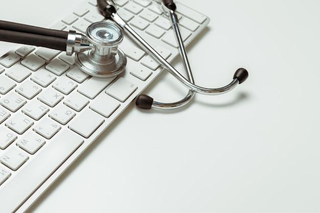 Artsenwerkplaats met een stethoscoop