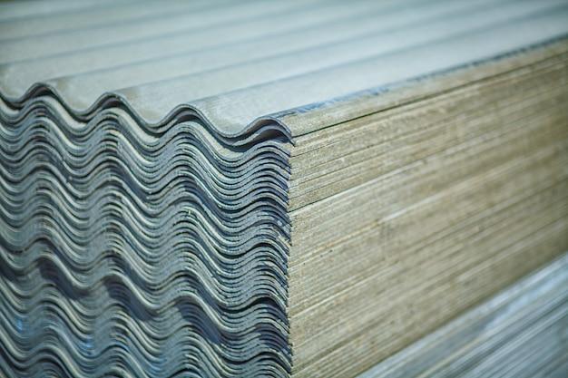 Asbest dak. asbestcement dakplaten