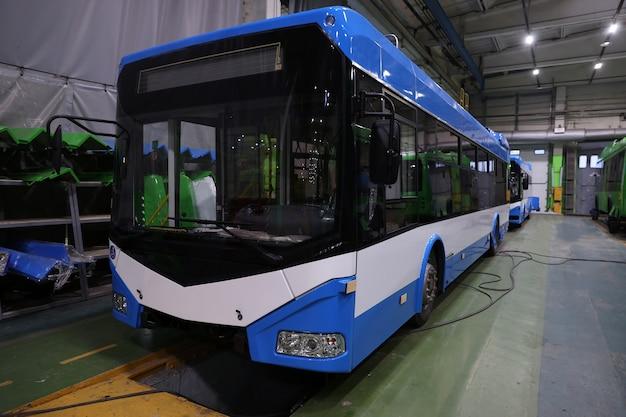 Assemblageproductie van elektrische stadsvoertuigen