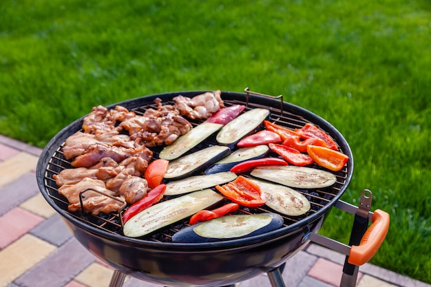 Assortiment diverse barbecuevoeders