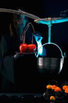 Assortiment halloween-feestvoedsel