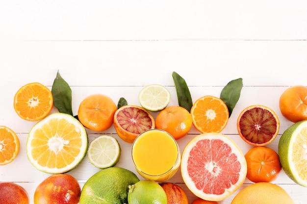 Assortiment van citrusvruchten