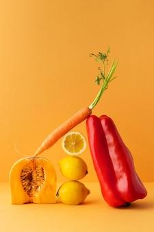 Assortiment van gezonde vegetarische gerechten