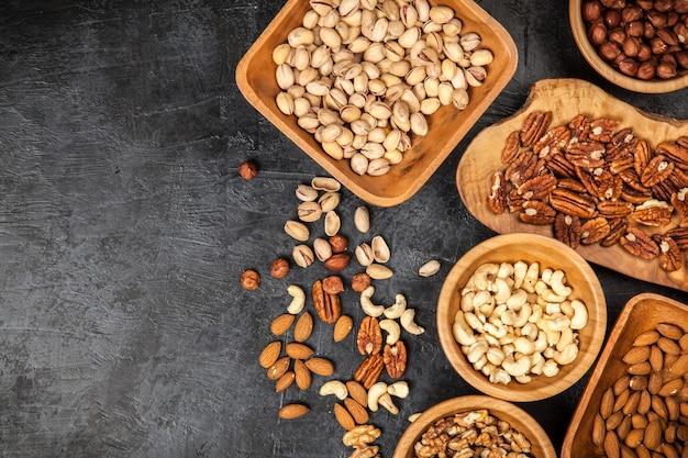 Assortiment van noten