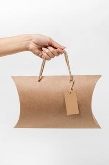Assortiment van recyclebare pakketzak