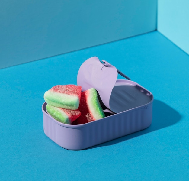 Assortiment watermeloen snoepjes
