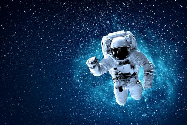 Astronaut op de ruimte