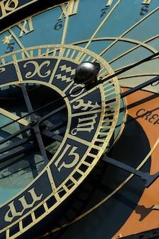 Astronomische klok in de toren