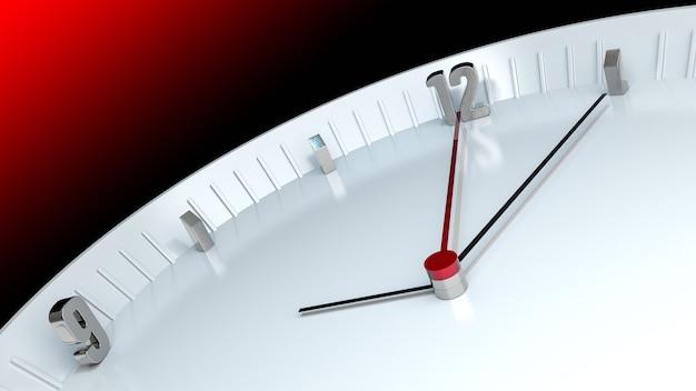 Ataturks sterfdag en tijd verstrijkt klok