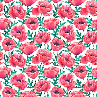 Atercolor hand getrokken illustratie geïsoleerd op een witte achtergrond. textuur voor print, stof, textiel, behang.