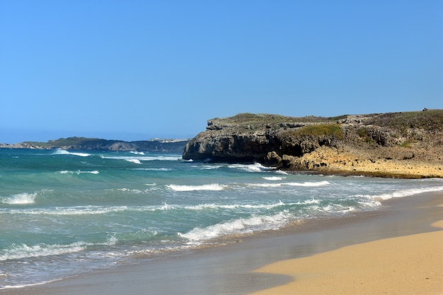 Atlantische kust. dominicaanse republiek