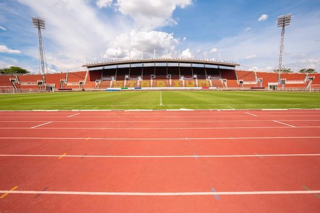 Atletiek stadion atletiekbanen