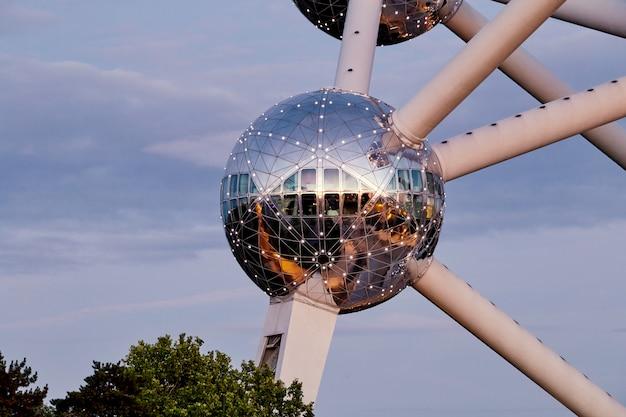Atomium landmark gebouw