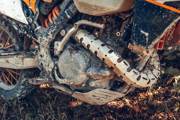 Atv quad, close-up van details