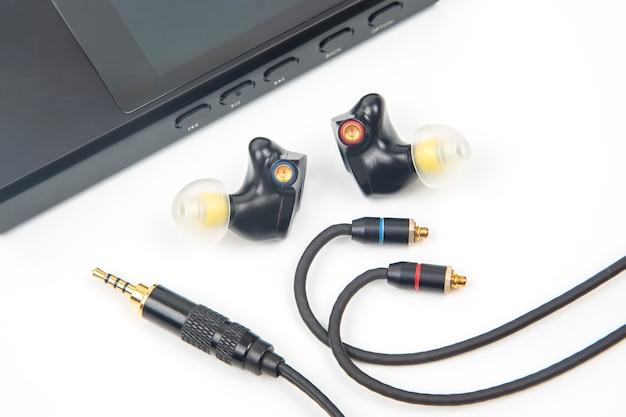 Audiogeluid en moderne apparatuur voor muziekliefhebbers