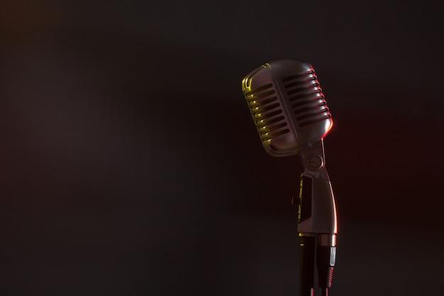 Audiomicrofoon retro-stijl