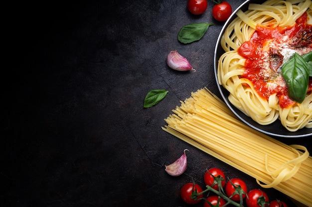 Authentieke italiaanse pasta