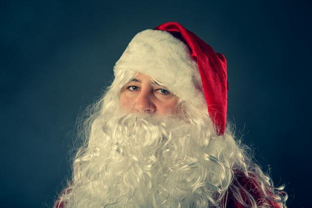 Authentieke kerstman.