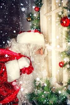 Authentieke kerstman