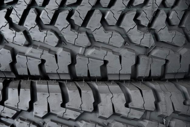 Auto band achtergrond, tyre textuur close-up achtergrond.