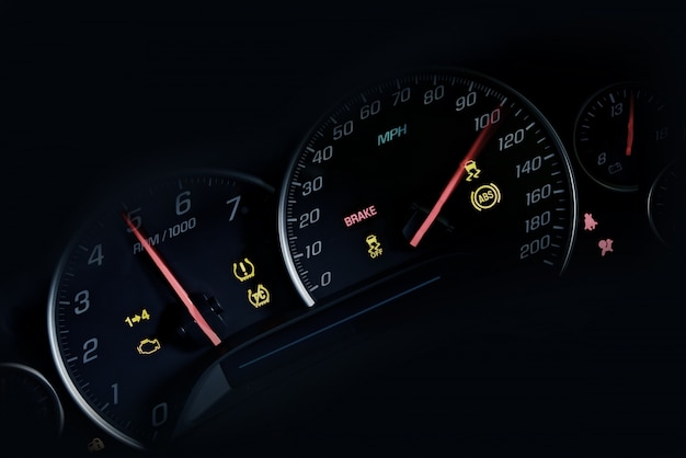 Auto instruments dash