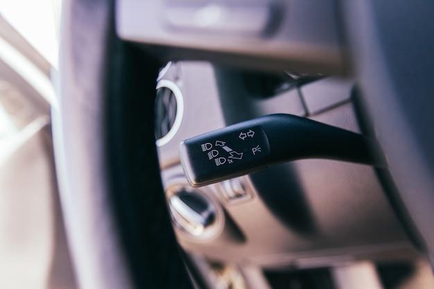 Auto interieur close-up