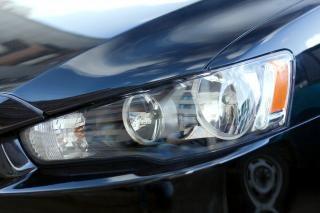 Auto koplamp elegantie