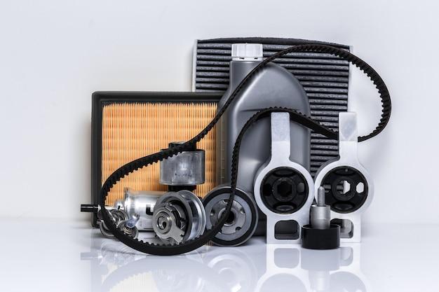 Auto-onderdelen voor reparatie concept