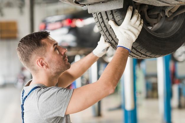 Auto reparatie bedrijfssamenstelling