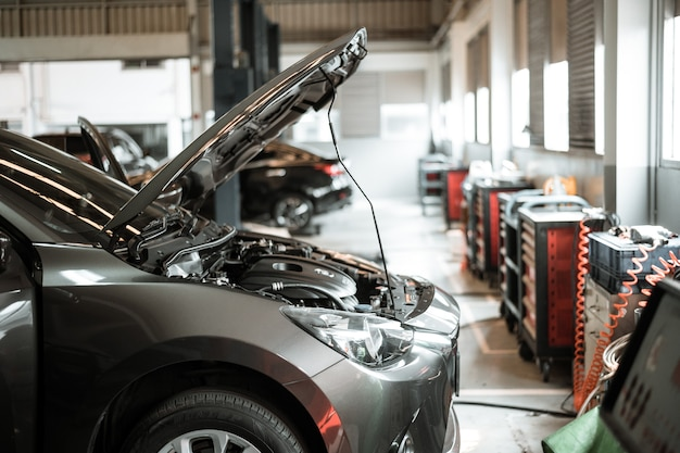 Auto reparatie- en servicecentrum